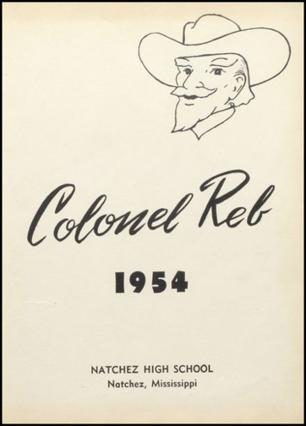 1954 Natchez High School Yearbook Page 5
