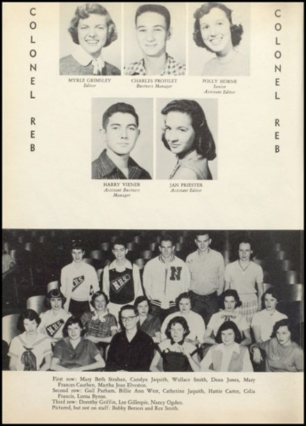 1954 Natchez High School Yearbook Page 6