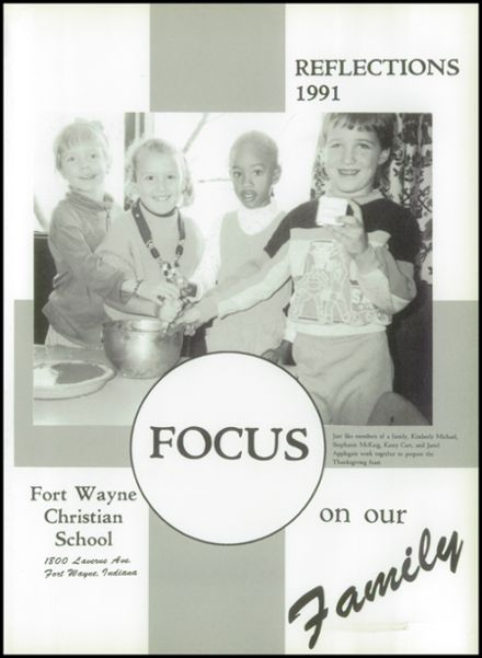 1991 Ft. Wayne Christian High School Yearbook Page 5