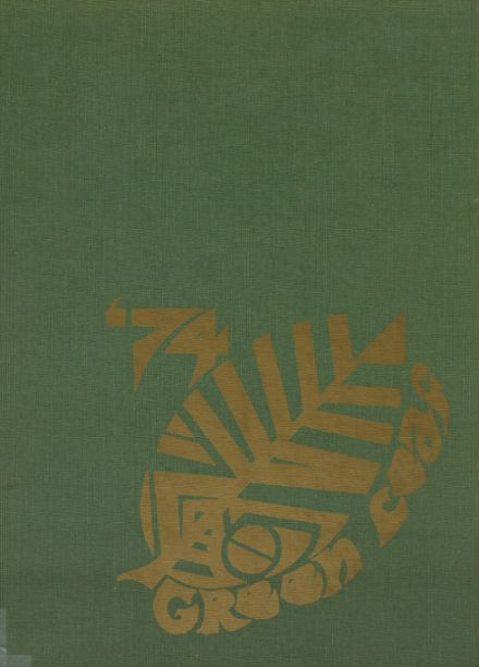 1974 Mt. Pleasant High School Yearbook Cover