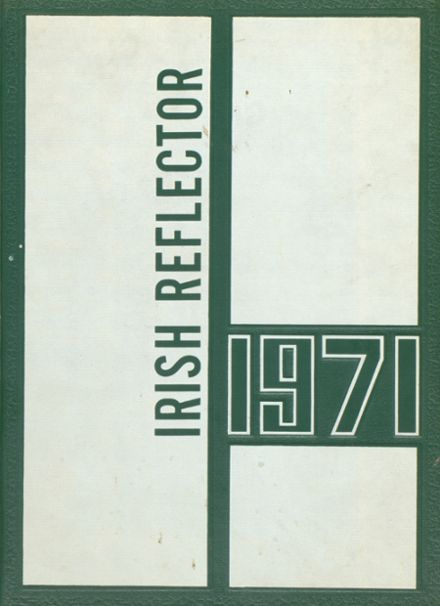 1971 St. Agnes Regional High School Yearbook Cover