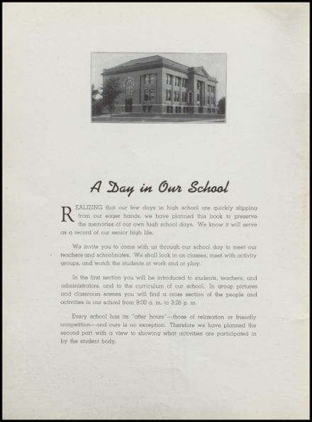 1941 Independence Christian High School Yearbook Page 4