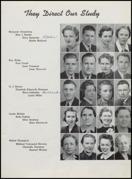 1941 Independence Christian High School Yearbook Page 7