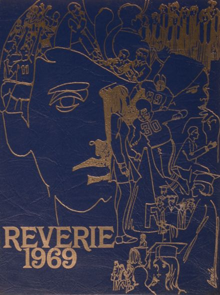 1969 Revere High School Yearbook Cover