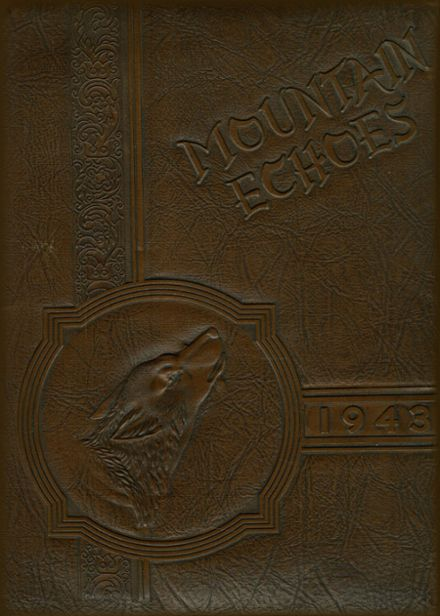 1943 Campion Academy Yearbook Cover