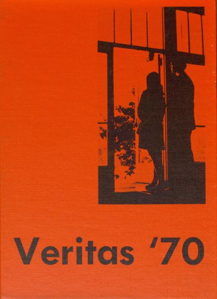 1970 St. Peter's Academy Yearbook Cover