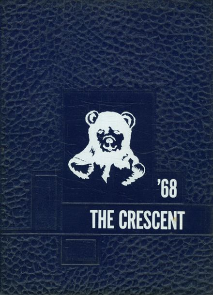 1968 Lee Academy Yearbook Cover