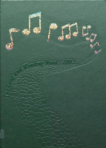 2002 New Milford High School Yearbook Cover
