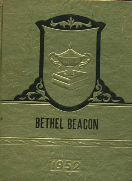 1952 Bethel High School Yearbook Cover