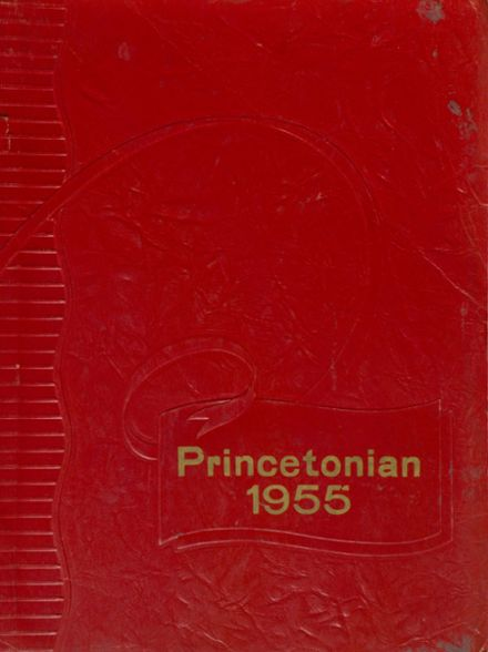 1955 Princeton High School Yearbook Cover