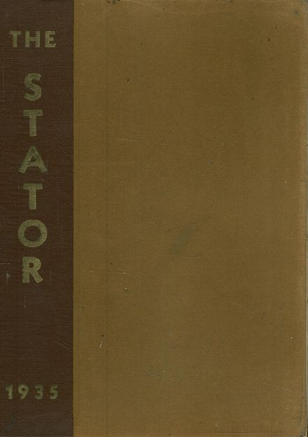 1935 Corning Free Academy Yearbook Cover
