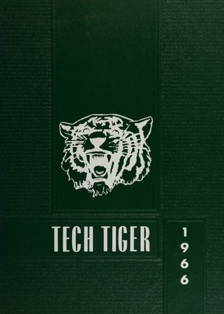 1966 Technical High School Yearbook Cover