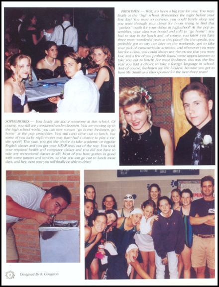 1996 John Glenn High School Yearbook Page 6