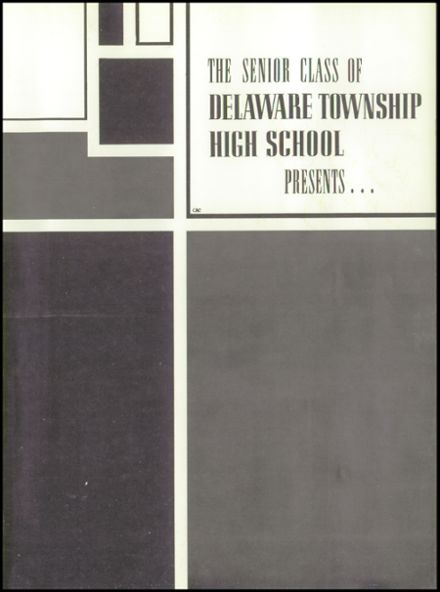 1961 Delaware Township High School Yearbook Page 5