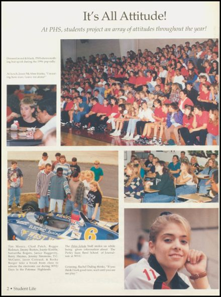 1996 Petersburg High School Yearbook Page 6