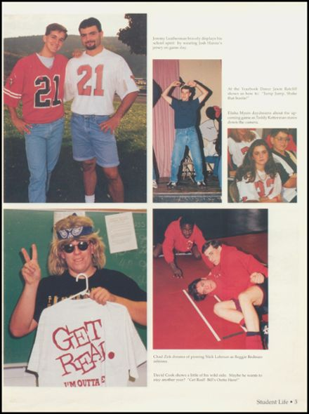 1996 Petersburg High School Yearbook Page 7