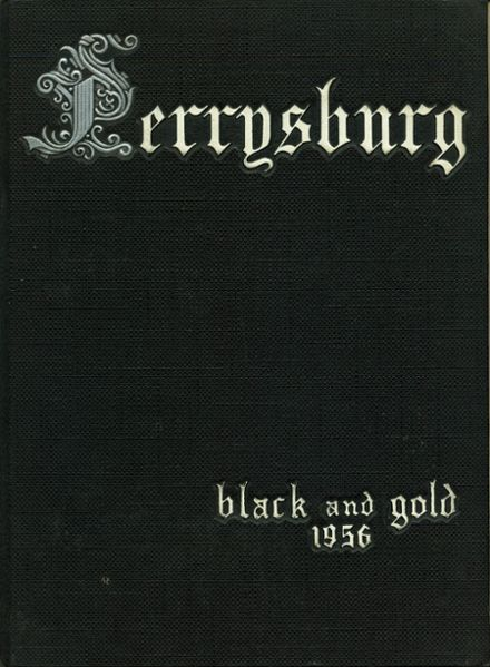 1956 Perrysburg High School Yearbook Cover