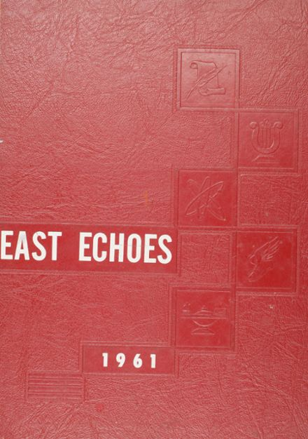 1961 East High School Yearbook Cover