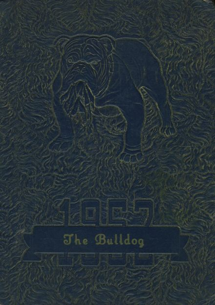 1952 MFL MarMac Community School Yearbook Cover