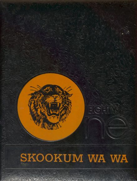 1981 Centralia High School Yearbook Cover