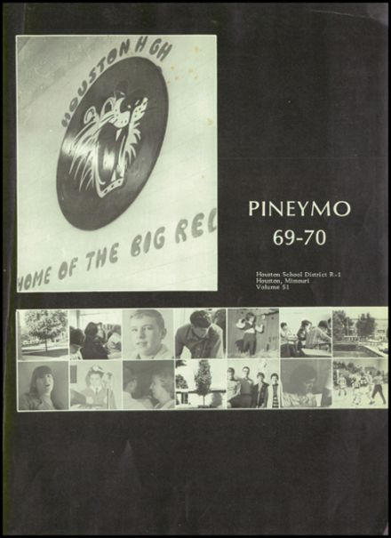 1970 Houston High School Yearbook Page 5