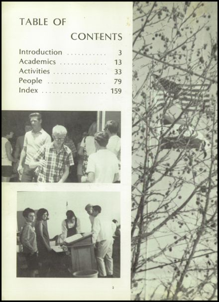 1970 Houston High School Yearbook Page 6