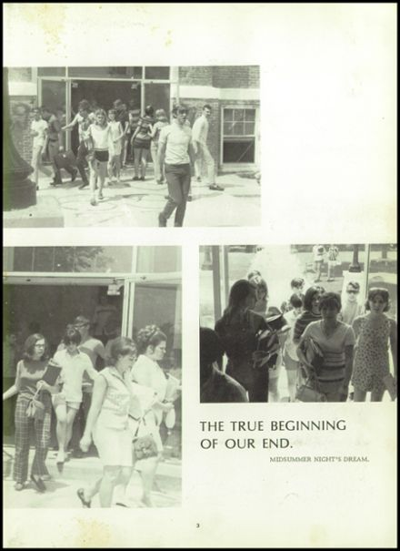 1970 Houston High School Yearbook Page 7