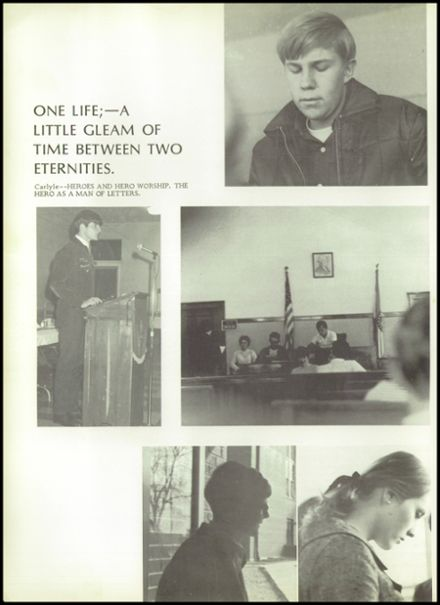 1970 Houston High School Yearbook Page 8