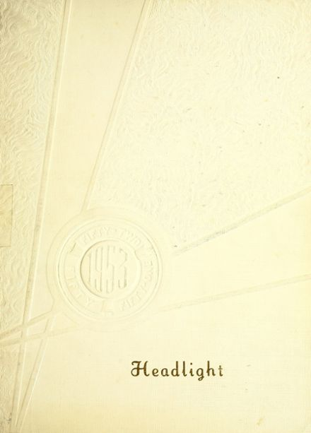 1953 Altoona High School Yearbook Cover