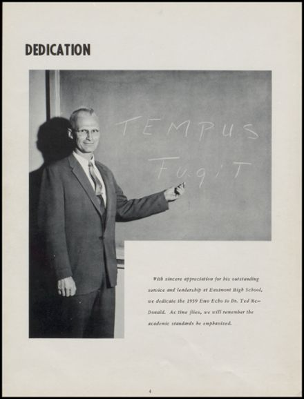 1959 Eastmont High School Yearbook Page 8