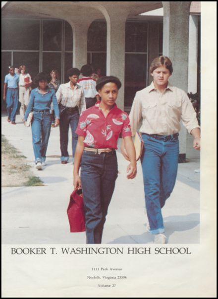 1981 Booker T. Washington High School Yearbook Page 5