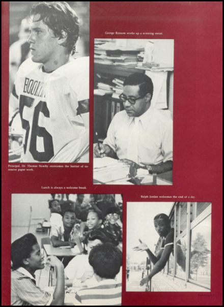 1981 Booker T. Washington High School Yearbook Page 7
