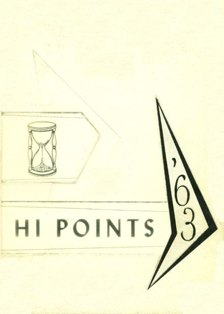1963 Sparrows Point High School Yearbook Cover