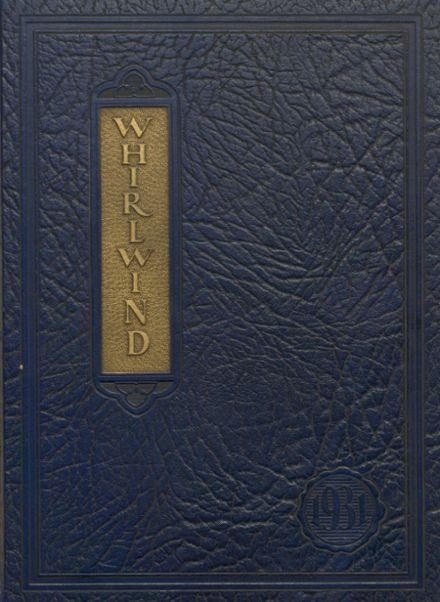 1931 Albany Union High School Yearbook Cover