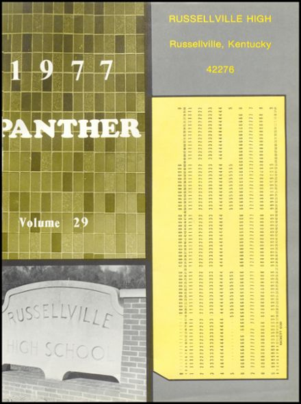 1977 Russellville High School Yearbook Page 5