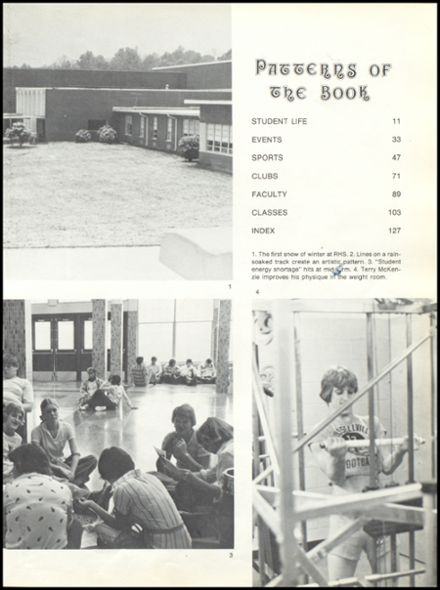 1977 Russellville High School Yearbook Page 7