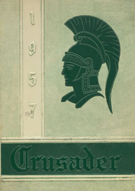 1957 Salem Academy Yearbook Cover