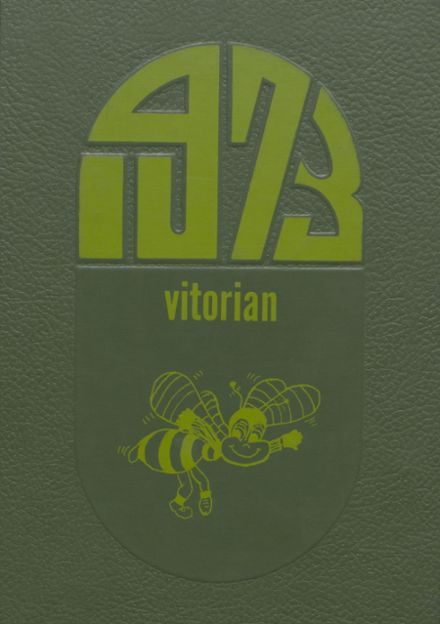 1973 V.I.T. High School Yearbook Cover