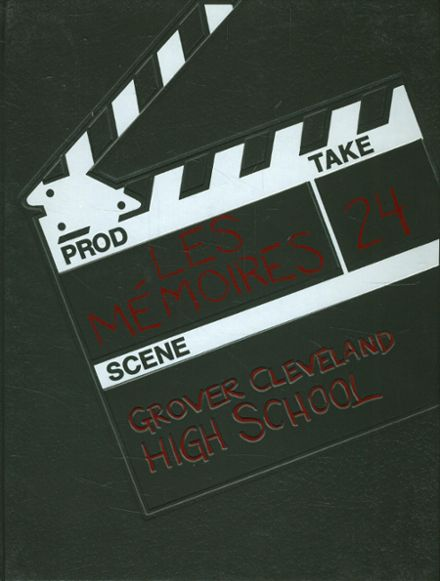 1983 Grover Cleveland High School Yearbook Cover