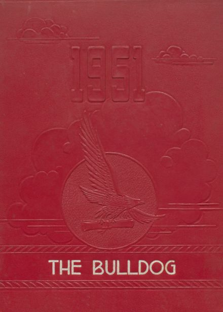 1951 Clayton High School Yearbook Cover
