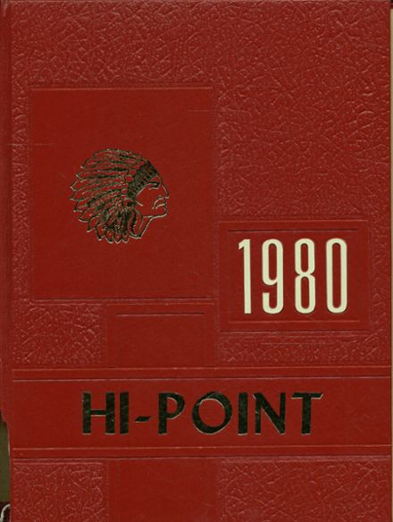 1980 Meyersdale Area High School Yearbook Cover