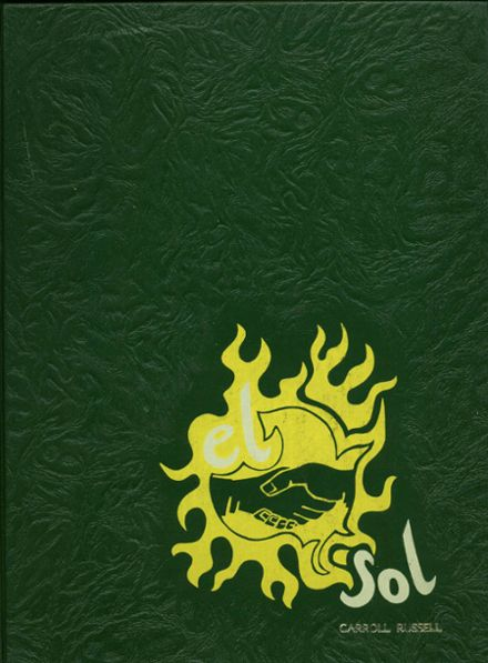 1973 Rancho High School Yearbook Cover