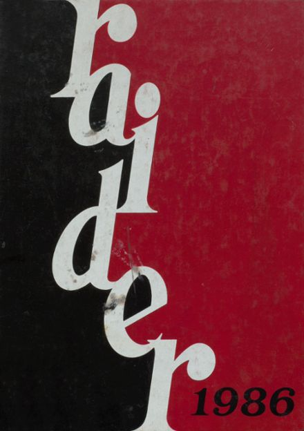 1986 Cameron County High School Yearbook Cover