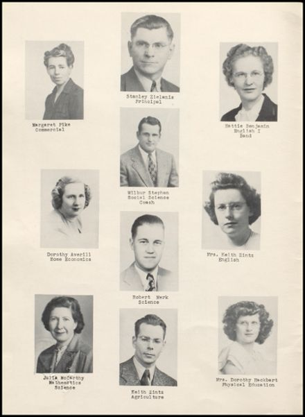 1948 Rib Lake High School Yearbook Page 6
