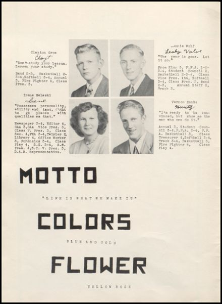 1948 Rib Lake High School Yearbook Page 8