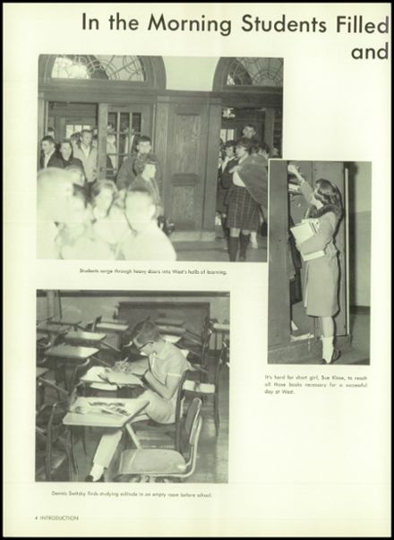 1964 West High School Yearbook Page 8