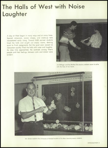 1964 West High School Yearbook Page 9