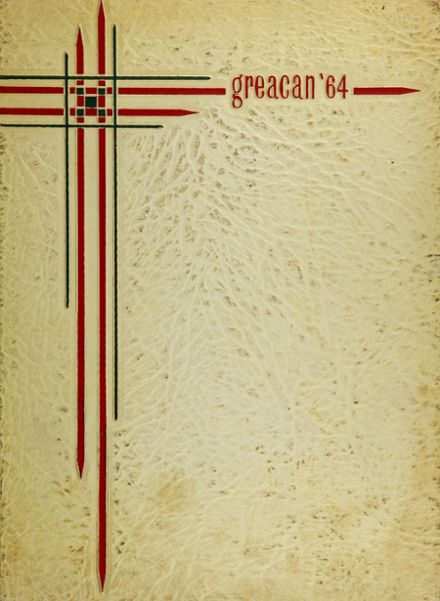 1964 Mclane High School Yearbook Cover