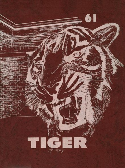 1961 Troup High School Yearbook Cover