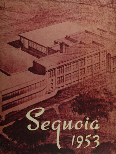 1953 Antioch Community High School Yearbook Cover